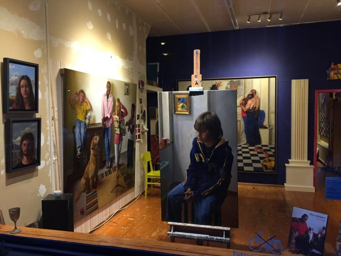 Private views of the Studio in Amsterdam by appointment