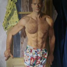 """Selfportrait With 10 Swedish Designers"""
